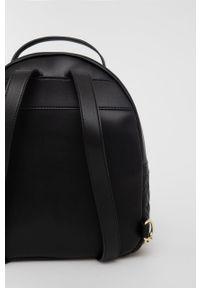 Love Moschino - Plecak. Kolor: czarny. Wzór: aplikacja #5