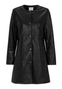 Czarny płaszcz Cellbes na co dzień, na wiosnę