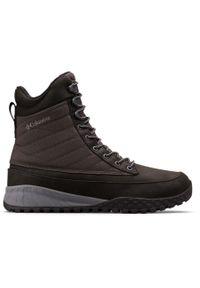 Czarne buty trekkingowe columbia na zimę