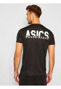 Czarna koszulka sportowa Asics