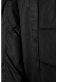 Czarna kurtka adidas Originals na co dzień, z kapturem, casualowa