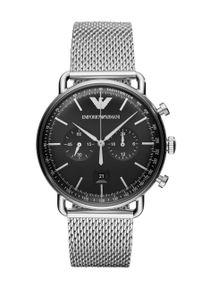 Emporio Armani - Zegarek AR11104. Kolor: srebrny