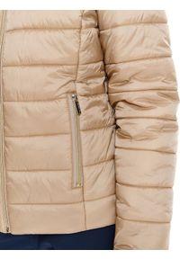 Beżowa kurtka TOP SECRET w kolorowe wzory, na wiosnę