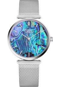 Zegarek Pierre Ricaud Zegarek damski PIERRE RICAUD P22096.511AQ srebrny. Kolor: srebrny