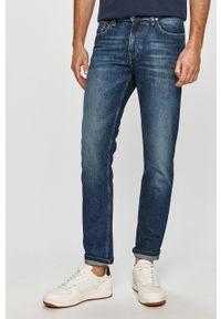 Niebieskie jeansy Tommy Jeans na co dzień, casualowe