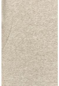 Szara bluza Jacqueline de Yong gładkie, z długim rękawem, z kapturem #5