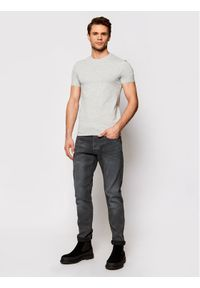 Guess T-Shirt M1RI24 J1311 Szary Super Slim Fit. Kolor: szary