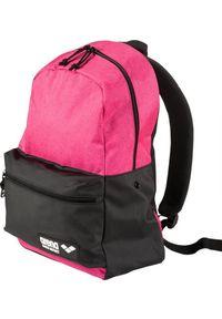 Różowy plecak Arena sportowy