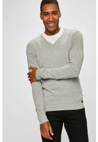 Szary sweter PRODUKT by Jack & Jones casualowy, na co dzień