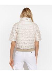 DIEGO M - Kremowa kurtka dwustronna. Kolor: biały. Sezon: lato