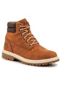Brązowe buty trekkingowe Helly Hansen