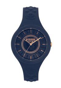 Niebieski zegarek Versus Versace