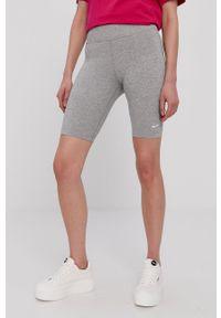 Nike Sportswear - Szorty. Kolor: szary. Materiał: dzianina