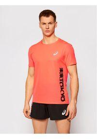 Pomarańczowa koszulka sportowa Asics