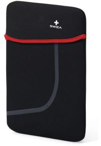 """Etui Swiza Moranda 15"""" Czarno-czerwony. Kolor: czarny, wielokolorowy, czerwony"""