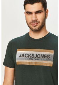 T-shirt Jack & Jones z nadrukiem, casualowy
