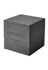 Diesel - Zegarek DZ4559. Kolor: czarny. Materiał: skóra, materiał