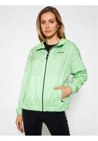DKNY Sport Kurtka przejściowa DP0J8973 Zielony Regular Fit. Kolor: zielony. Styl: sportowy