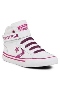 Converse Sneakersy Pro Blaze Strap Hi 668475C Biały. Kolor: biały
