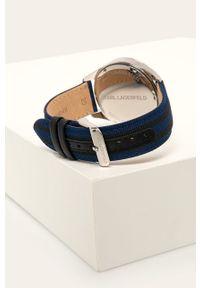 Czarny zegarek Karl Lagerfeld