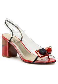 Białe sandały Azurée