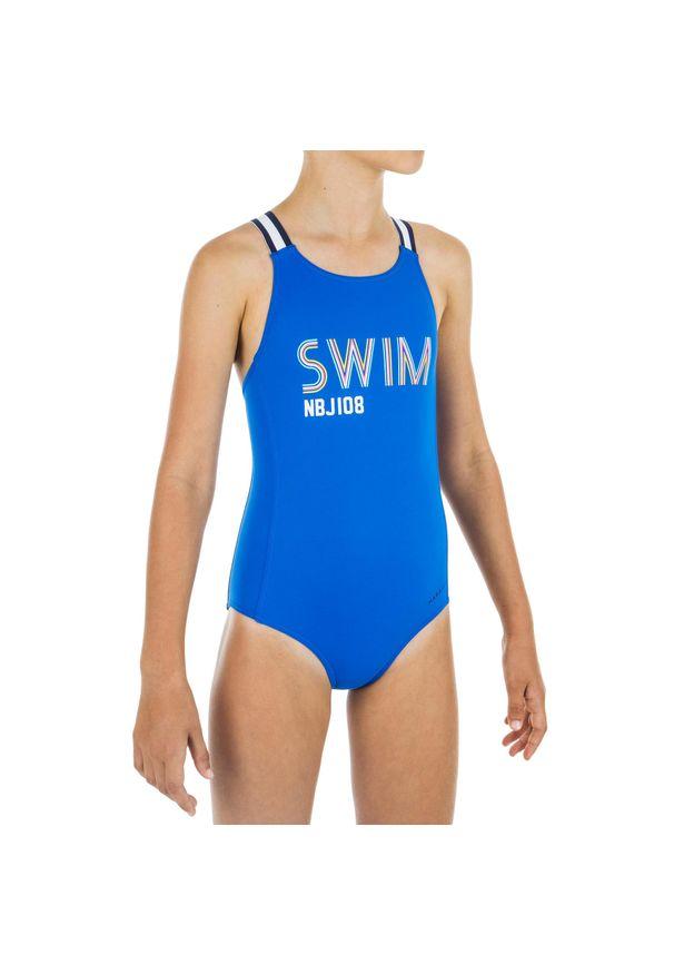 NABAIJI - Strój Jednoczęściowy Pływacki Vega Swim Dla Dzieci. Materiał: poliamid, materiał, elastan