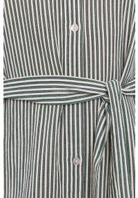 Vero Moda - Sukienka. Okazja: na co dzień. Kolor: zielony. Materiał: bawełna, tkanina. Typ sukienki: proste. Styl: casual