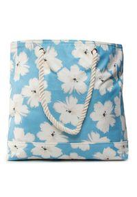 Niebieska torba plażowa Banana Moon