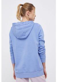4f - 4F - Bluza. Okazja: na co dzień. Kolor: niebieski. Materiał: materiał. Długość rękawa: długi rękaw. Długość: długie. Styl: casual