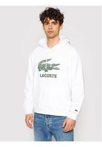 Lacoste Bluza SH0064 Biały Regular Fit. Kolor: biały