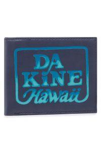 Dakine - Duży Portfel Męski DAKINE - Rufus Wallet 08820116 Midnight. Kolor: niebieski. Materiał: skóra