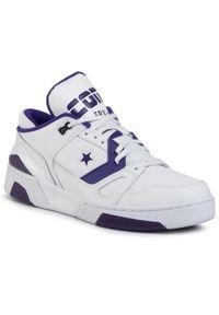 Białe buty sportowe Converse na co dzień, z cholewką