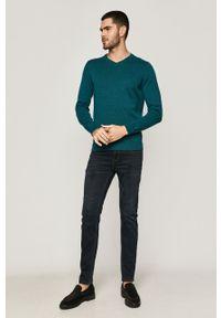 medicine - Medicine - Sweter Basic. Okazja: na co dzień. Kolor: zielony. Długość rękawa: długi rękaw. Długość: długie. Styl: casual