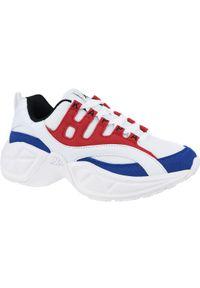Białe buty sportowe Kappa z cholewką