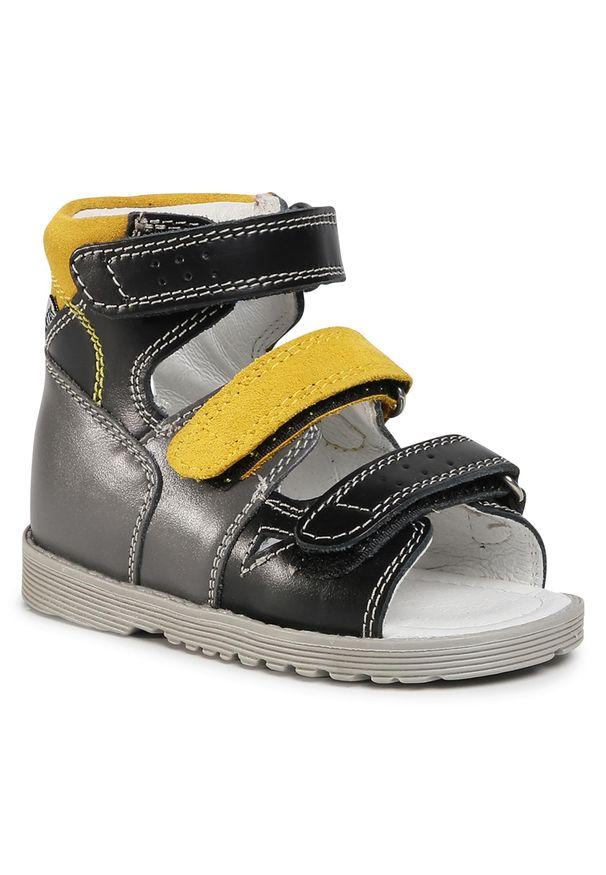 Szare sandały Bartek na lato