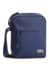 Niebieska torba na ramię Lacoste
