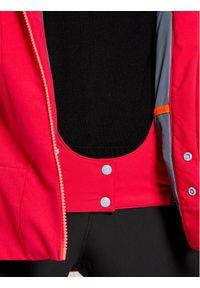 Różowa kurtka sportowa Salewa narciarska