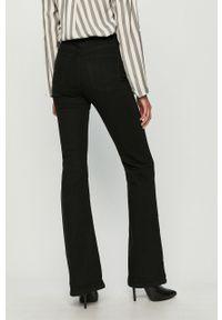 Czarne jeansy bootcut TALLY WEIJL