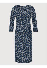 Weekend Max Mara Sukienka codzienna Brava 56260319 Niebieski Regular Fit. Okazja: na co dzień. Kolor: niebieski. Typ sukienki: proste. Styl: casual