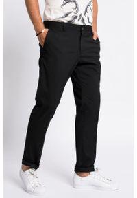 Czarne spodnie Selected casualowe, na co dzień
