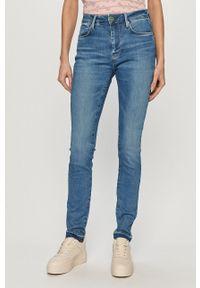 Pepe Jeans - Jeansy Regent. Kolor: niebieski
