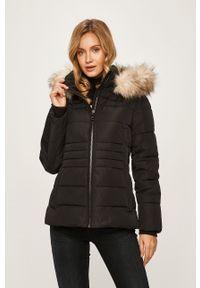 Czarna kurtka DKNY z kapturem