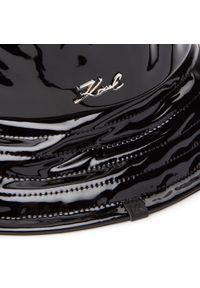 Karl Lagerfeld - Kapelusz KARL LAGERFELD - 206W3407 Black. Kolor: czarny. Materiał: poliester, bawełna, materiał