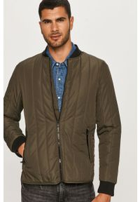 Zielona kurtka Tailored & Originals casualowa, na co dzień, bez kaptura