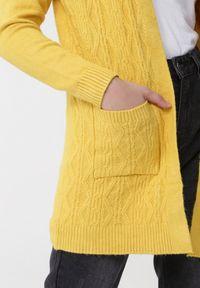 Żółty kardigan Born2be #5