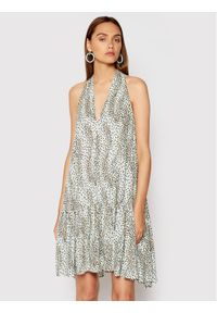 Imperial Sukienka letnia ABXPBOL Niebieski Regular Fit. Kolor: niebieski. Sezon: lato