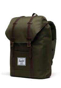 Herschel - Plecak. Kolor: zielony
