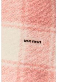 Różowa spódnica Local Heroes casualowa, na co dzień