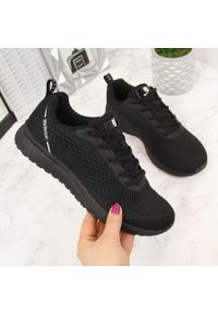 Czarne buty sportowe McBraun