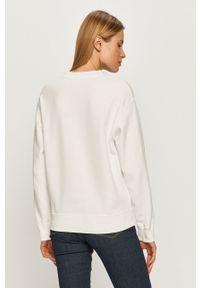 Biała bluza Levi's® z długim rękawem, bez kaptura